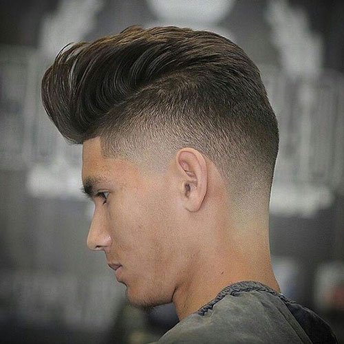 Undercut + Pompadour + Line Up