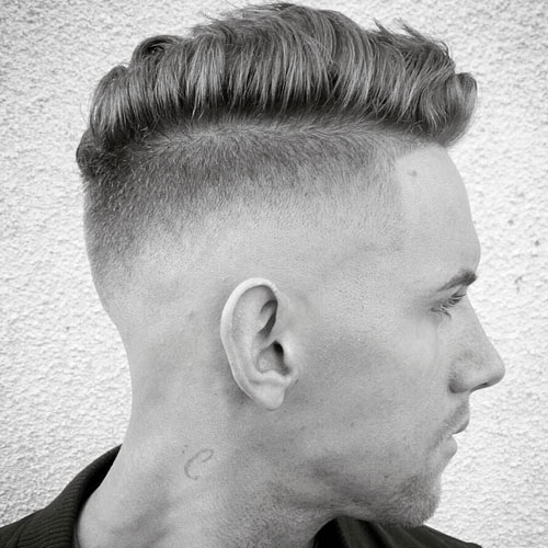 Undercut and Line Up with Comb Over
