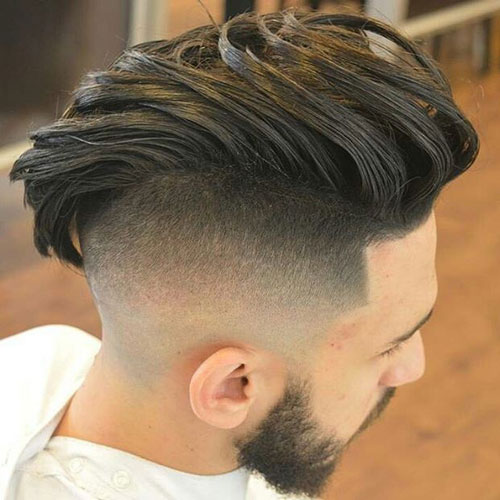 Undercut with Long Textured Hair