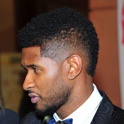 Usher Mohawk Fade