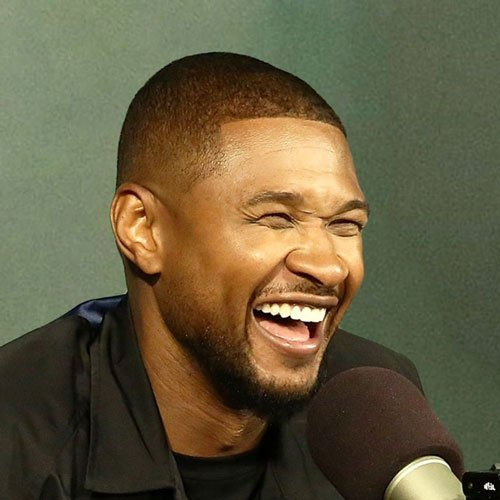 Usher Raymond Haircut