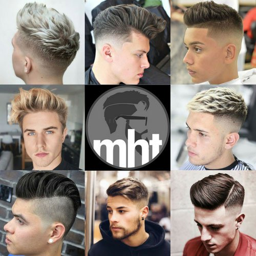 Young Men's Haircuts and Hairstyles