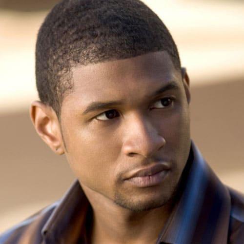 Young Usher Buzz Cut