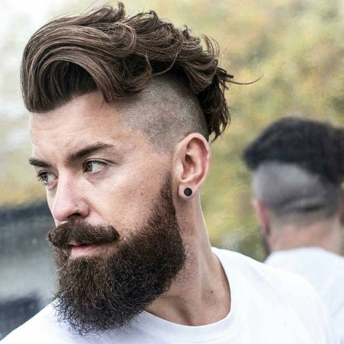 Undercut Hairstyle For Fat Guys - Pemudi w