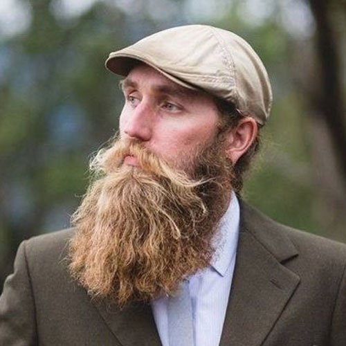 Cool Long Beard Styles For Men