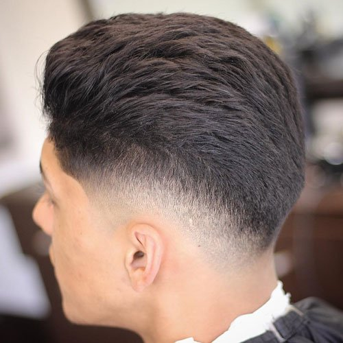 Drop Fade Haircut For Men