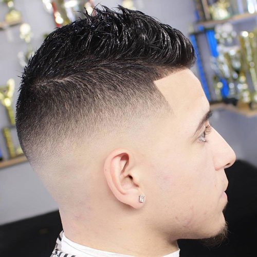 Edge Up Hair - Faux Hawk + High Skin Fade