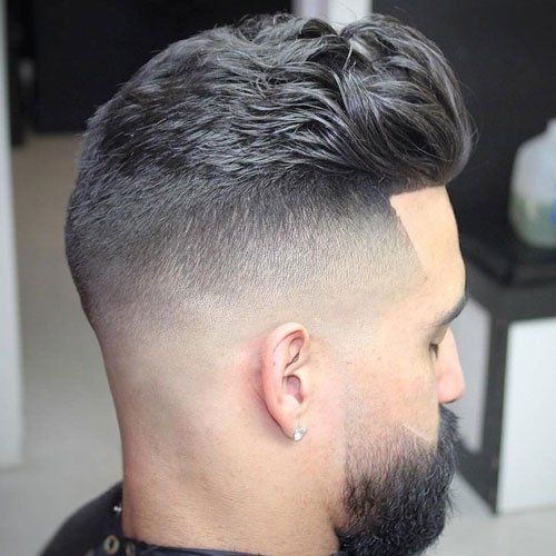 Edge Up Hairline - Thick Brushed Back Hair