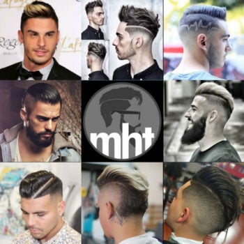 Edgy Men's Haircuts