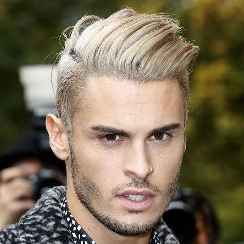 Short Hairstyles For Men With Straight Hair 86