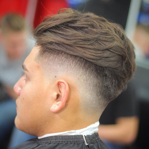 High Bald Drop Fade Haircut