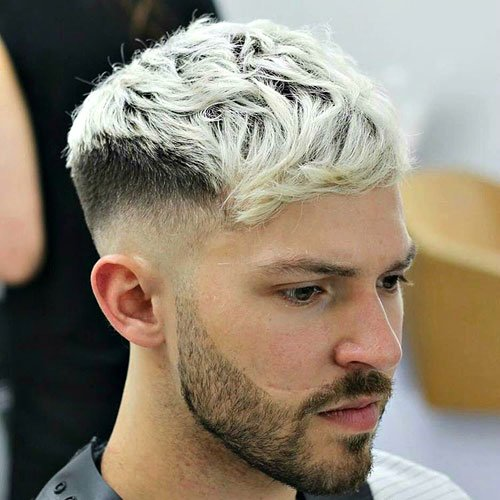 High Skin Taper Fade + Short Fringe