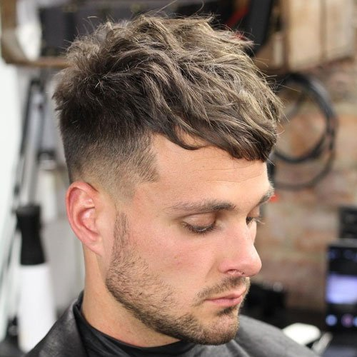 Long Fringe with Fade and Edge Up