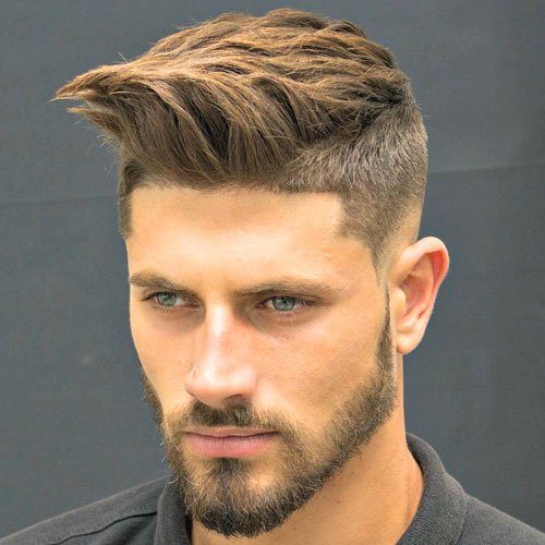 New Hairstyles For 2017 Low Taper Fade Shape Up Brush