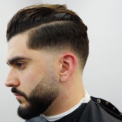 Men's Drop Fade Haircut