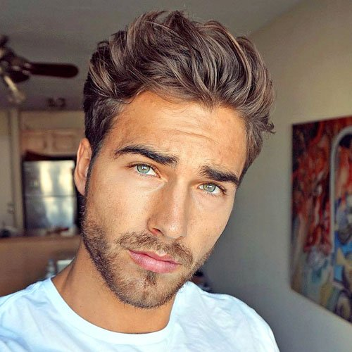 33 Hairstyles For Men With Straight Hair Men S Hairstyles Haircuts 2017