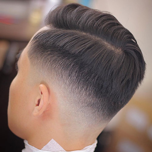 Mid Drop Fade For Men