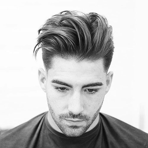 Quiff with Taper Fade