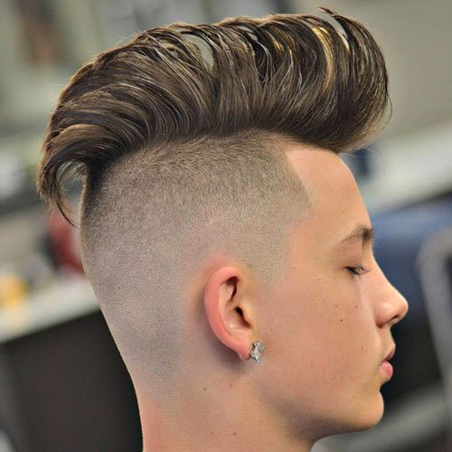 Boys Hairstyles formally fetching boys haircuts Undercut Mohawk