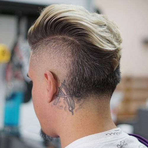 Undercut with Thick Faux Hawk (FoHawk)