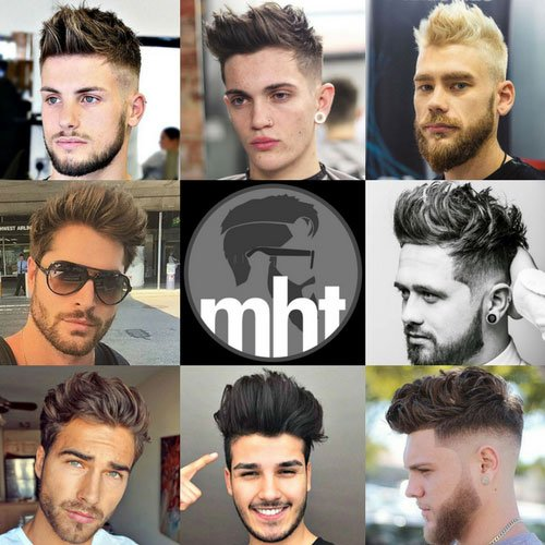 Brushed Up Hairstyle Men S Hairstyles Haircuts 2018