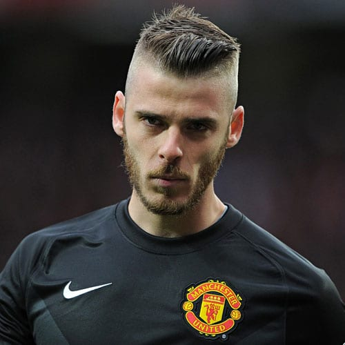 David De Gea - Skin Fade with Short Hair