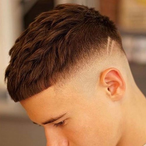 French Crop with High Fade