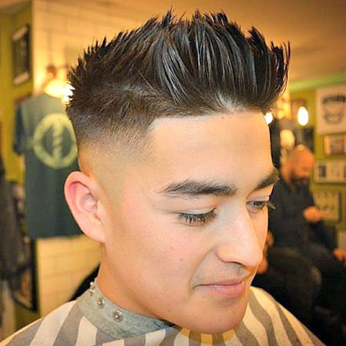 Brushed Up Hairstyle Men S Hairstyles Haircuts 2019