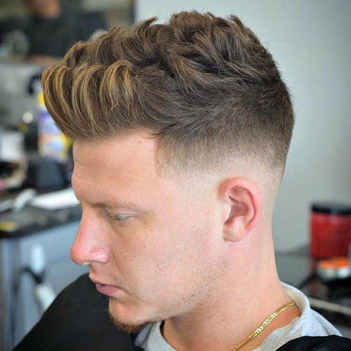 The Brushed Up Hairstyle Men S Hairstyles Haircuts 2017