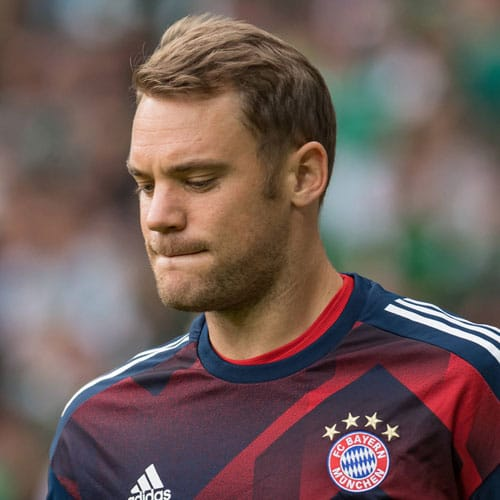 Manuel Neuer - Natural Brushed Back Hair
