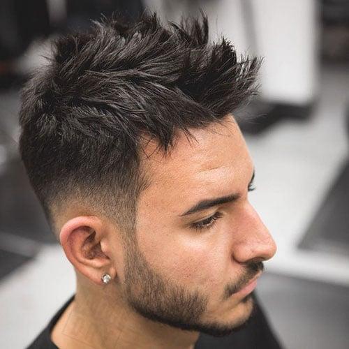 how to get high volume hair men