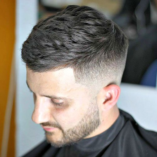 French crop haircut side swept cropped haircut with low fade solutioingenieria
