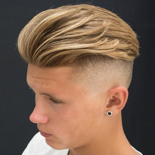 Undercut hairstyles for men men s hairstyles and haircuts for 2017 - The Slicked Back Undercut Hairstyle Men S Hairstyles