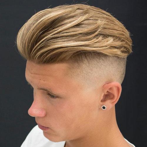 Strange The Slicked Back Undercut Hairstyle Mens Hairstyles Haircuts 2017 Hairstyles For Men Maxibearus