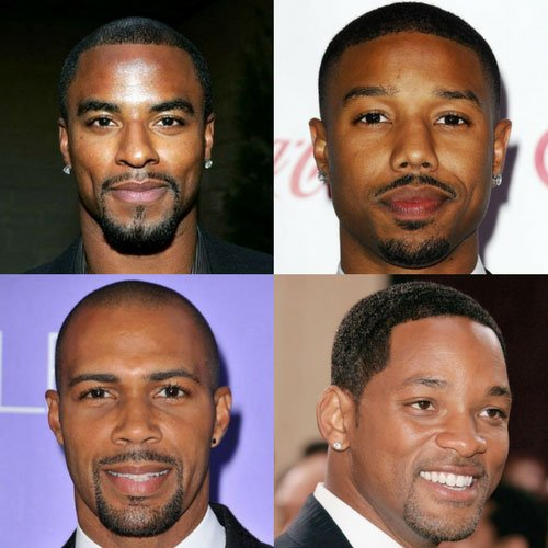 Black Men Goatee Styles