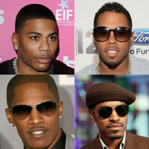 Black Men Mustache Styles
