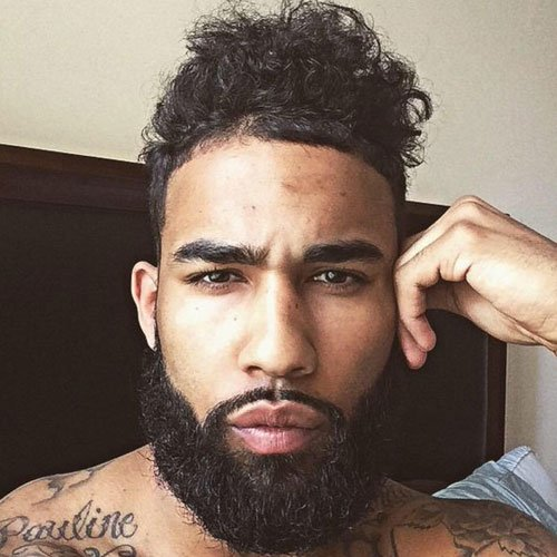 Cool Beard Styles For Black Men