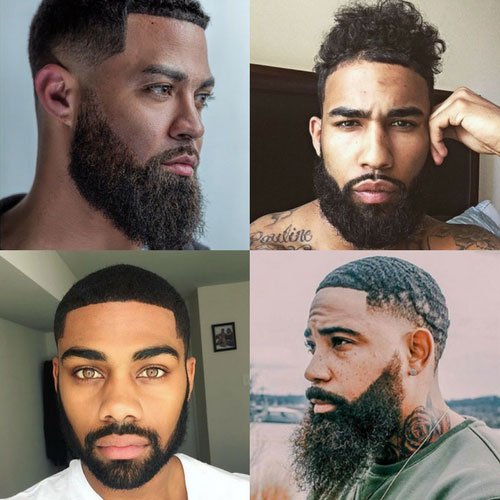 Prime 23 Best Black Men Beard Styles Cool Beards For Black Guys In 2020 Natural Hairstyles Runnerswayorg