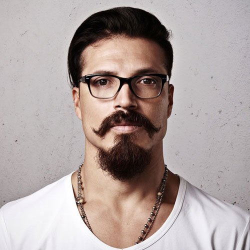 Men's Long Goatee Styles