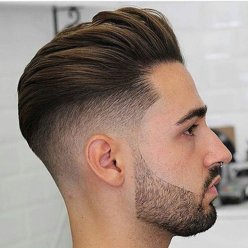 Hair Style Brilliant Slicked Back Undercut Hairstyle 2018  Men's Hairstyles  Haircuts .