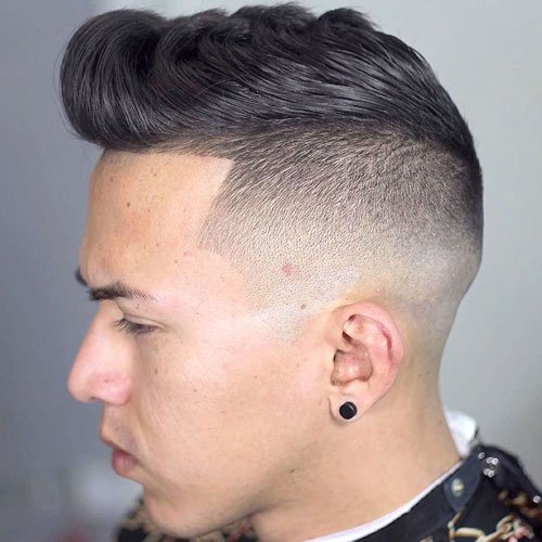 Undercut with Textured Wavy Top