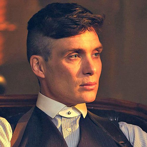 Cillian Murphy Peaky Blinders Hair - Cool Side Swept Fringe