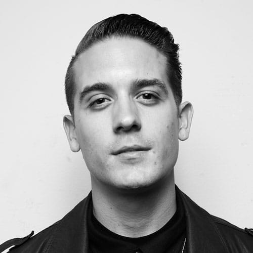 G-Eazy Style - High Fade with Thick Slick Back Haircut