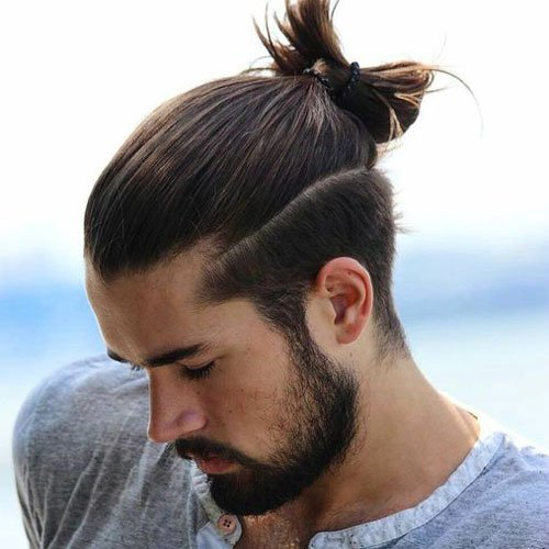 Japanese Samurai Hairstyle For Men