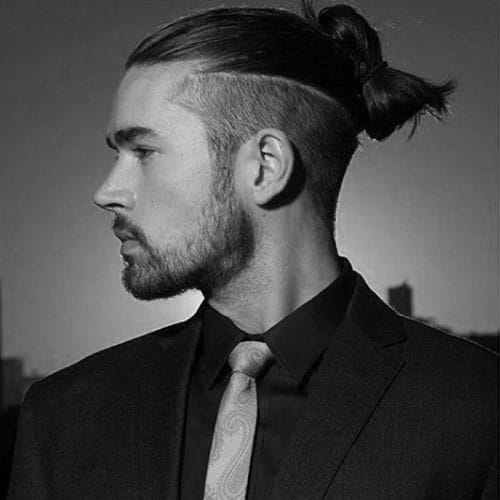 Japanese Samurai Hairstyle - Top Knot