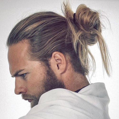 Man Bun Haircut