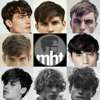 Men's Fringe - Bangs For Guys
