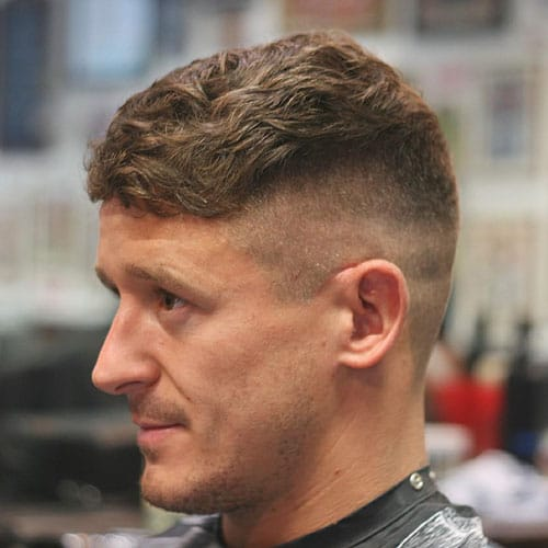 Peaky Blinders Hair - Fade with Wavy French Crop