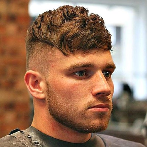 Peaky Blinders Haircut - Textured Crop with Fringe