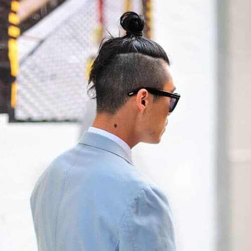 Samurai Top Knot Hairstyle